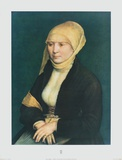 Portrait of a Young Lady Collectable Print by Hans Holbein the Younger