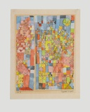 Dogmatic Composition Collectable Print by Paul Klee