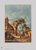 Capriccio Collectable Print by Francesco Guardi