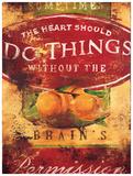 Rodney White - Brain's Permission Digitálně vytištěná reprodukce