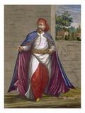 A Kasseki, Plate 19 Giclee Print by Jean Baptiste Vanmour