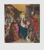 The Adoration of the Magi Collectable Print