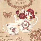 Fleurs de Paris II Affiches par Stefania Ferri