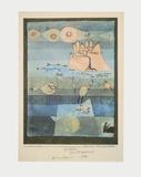 Exotic Riverside Samletrykk av Paul Klee