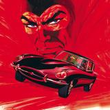 Diabolik: Jaguar Affiches par Sergio Zaniboni