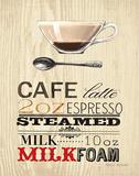 Cafe Latte Posters av Marco Fabiano