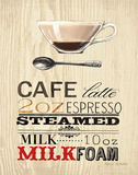 Cafe Latte Prints by Marco Fabiano