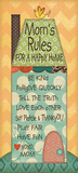 Mom&#39;s Rules Prints by Jo Moulton