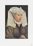 Portrait of a Young Woman Collectable Print by Rogier Weyden