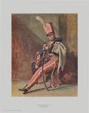 The Hussar-Trumpeter Samlertryk af Théodore Géricault