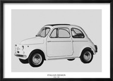 Italian Design - FIAT 500 Prints