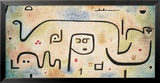 Insula Dulcamara, 1938 Poster by Paul Klee