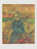 Tired Florist Collectable Print by Walter Gramatté