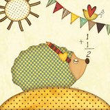 Hedgehog Math Prints by Jo Moulton