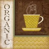 Organic Coffee Prints by Jennifer Pugh