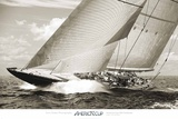 America&#39;s Cup: Hanuman, Endeavour Replica Prints by Cory Silken