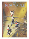 The New Yorker Cover - March 27, 1954 Premium Giclee Print by Arthur Getz