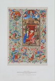 Birth of Christ - Prayer Book about 1450 Collectable Print