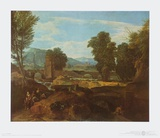 Roman Mountain-Scenery Prints by Jean-François Millet