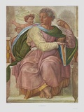 The Prophet Jesaias Collectable Print by  Michelangelo Buonarroti