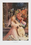 Angel Playing Music Print by Matthias Gruenewald