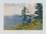 North Woods Club Collectable Print by Winslow Homer