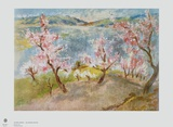 Blooming Trees Collectable Print by István Szönyi