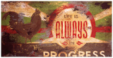Always In Progress Giclee Print by Rodney White