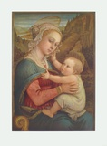 The Virgin and Child Collectable Print by Filippo Lippi