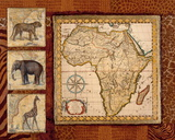 Journey to Africa I Art