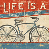 Beautiful Ride I Print by  Pela