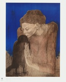 The Woman with the Raven Collectable Print by Pablo Picasso