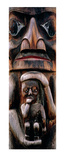 Totem Mother, Kitwanga, British Columbia Prints by Dermot O'Kane