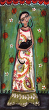 Frida Cat Poster af Lori Barber