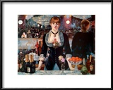 Bar at the Folies-Bergere Art by Édouard Manet