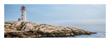 Peggy's Cove Lighthouse, Nova Scotia Print by Jeff Maihara