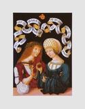Lovers - Gothaer Liebespaar Print