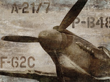 Vintage Airplane Plakaty autor Dylan Matthews