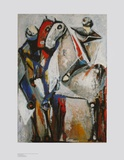Two Riders Posters by Marino Marini