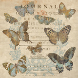 Papillon I Poster by Deborah Devellier