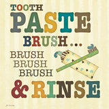 Tooth Paste Posters by Jo Moulton