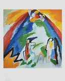 Mountain , 1909 Collectable Print by Wassily Kandinsky