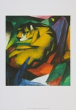 The Tiger , 1912 Prints by Franz Marc