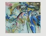Improvisation 21 A , 1911 Samletrykk av Wassily Kandinsky