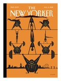 The New Yorker Cover - August 6, 2012 Premium Giclee Print by Frank Viva
