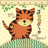 Jungle Tiger Prints by Jo Moulton