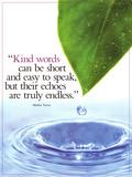 Kind Words Sztuka