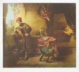 The Student Collectable Print by  Rembrandt van Rijn