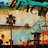 Beach Culture Kunstdrucke von Charlie Carter