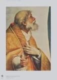 Sistinine Madonna - Pope Sixtus (Detail) Samlertryk af Raphael,